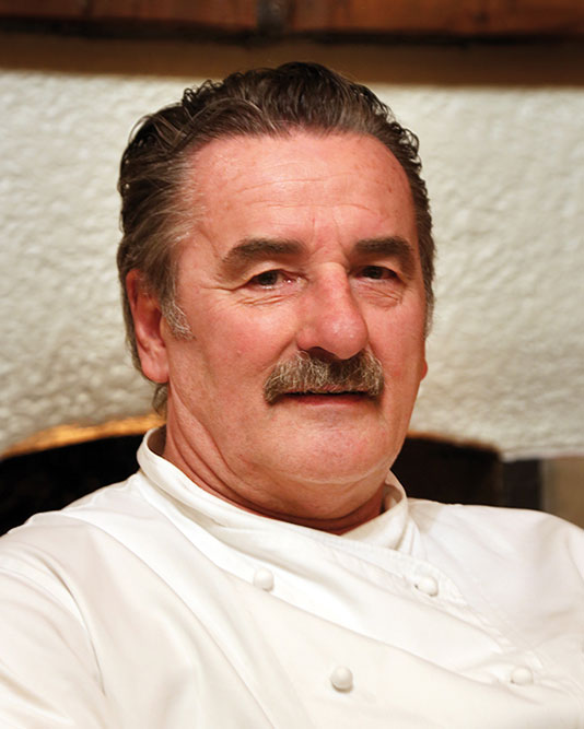 Chef Peter Raith - Antico Grotto Ticino